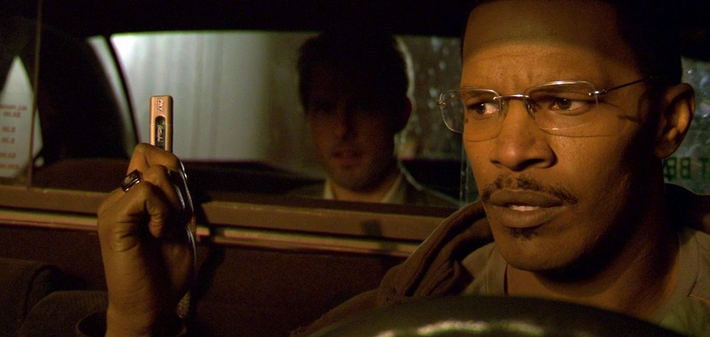 Tom Cruise e Jamie Foxx in Collateral (2004)