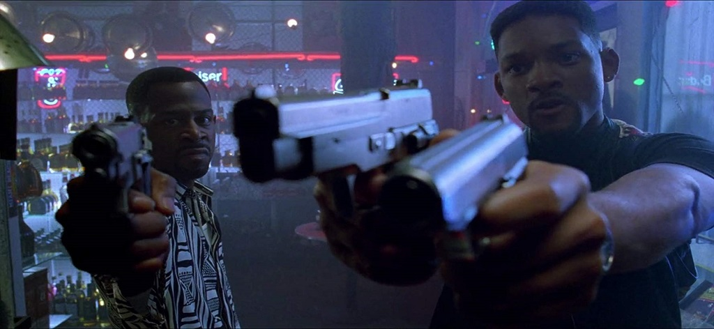 Will Smith e Martin Lawrence in Bad Boys (1995)