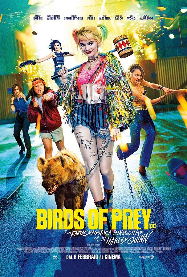 birds of prey poster ita film
