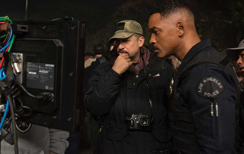 david ayer set bright film