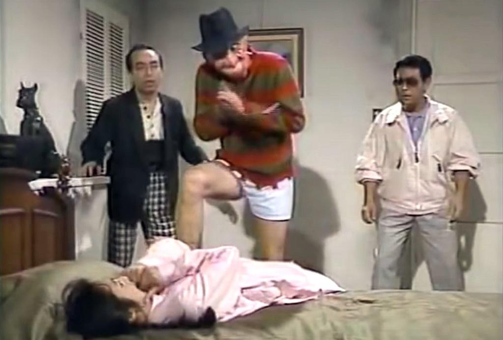 freddy krueger tv giapponese nightmare 1991