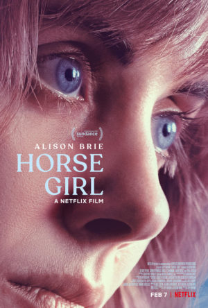 horse girl film netflix 2020 poster