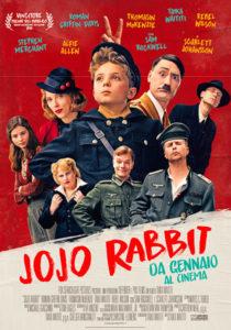 jojo rabbit film poster ita