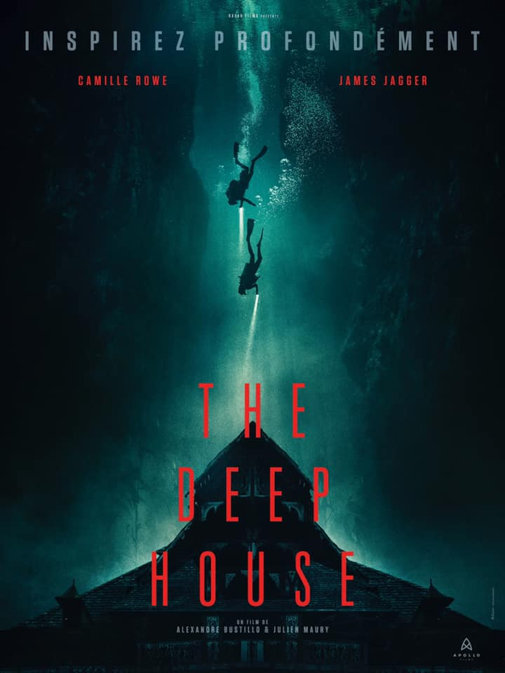 the deep house film poster 2020