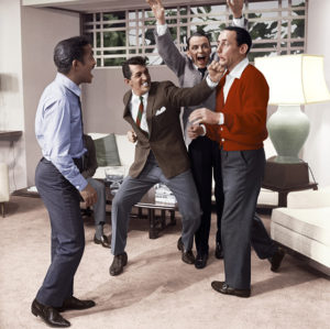 Frank Sinatra, Dean Martin, Sammy Davis Jr. e Joey Bishop