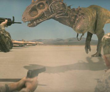 Jurassic Thunder film 2020