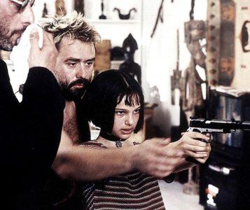 Luc Besson e Natalie Portman in Léon (1994)