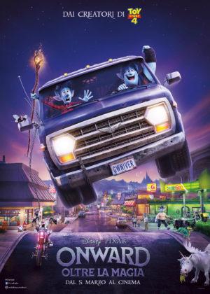 Onward - Oltre la Magia poster film