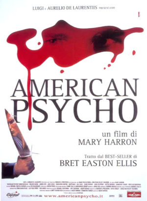 american psycho - locandina