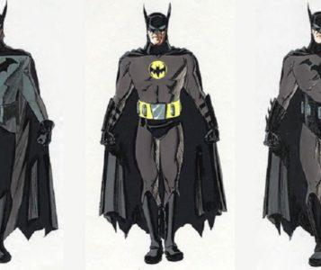 batman anno uno David Williams concept 1