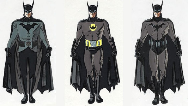 batman anno uno David Williams concept 1