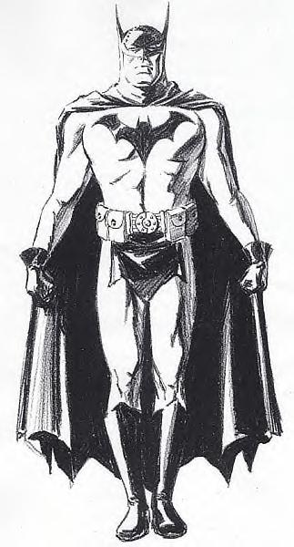 batman anno uno David Williams concept 2