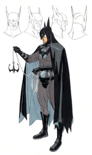 batman anno uno David Williams concept