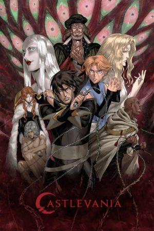 castlevania stagione 3 serie netflix poster