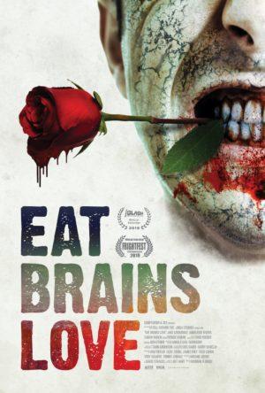 eat brains love film poster 2020