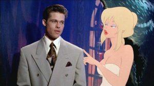 fuga dal mondo dei sogni film Kim Basinger e Brad Pitt