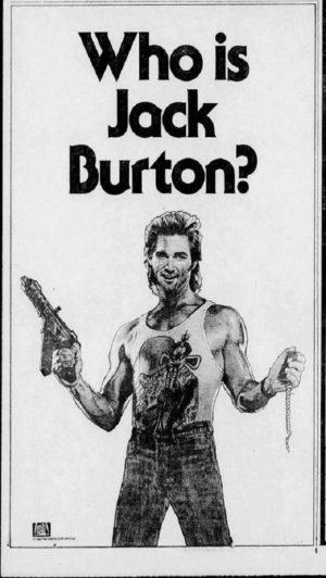 grosso guaio a chinatown pubblicità 1986