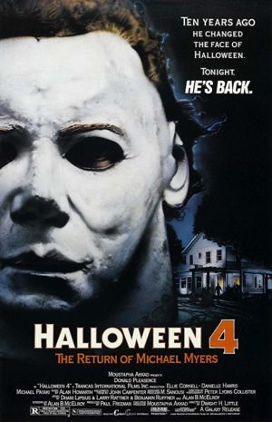 halloween 4 1988 film poster