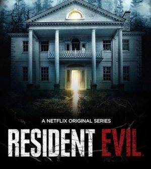 resident evil serie netflix poster