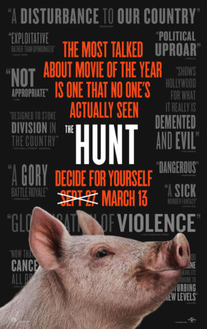 the hunt film poster 2020