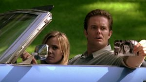 Garret Dillahunt e Leah Pipes in Terminator The Sarah Connor Chronicles (2008)