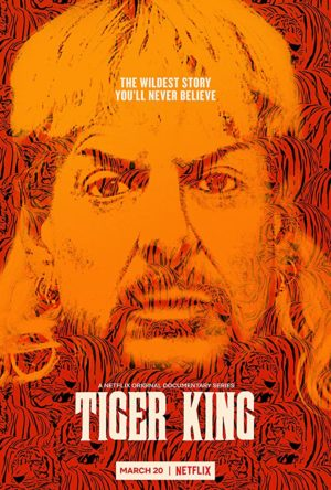 Joe Exotic in Tiger King Murder, Mayhem and Madness (2020) poster