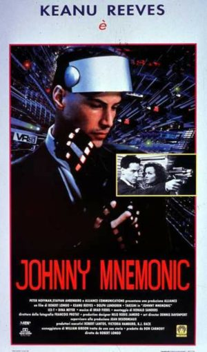 Johnny Mnemonic film 1995 poster