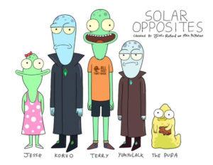 Solar Opposites serie 2020 poster