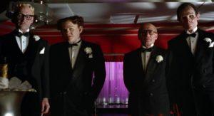 William Forsythe, Ed O'Ross, Henry Silva e James Tolkan in Dick Tracy (1990)