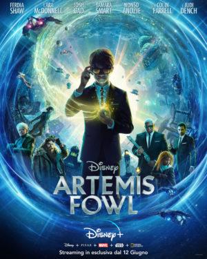 artemis fowl film poster 2020