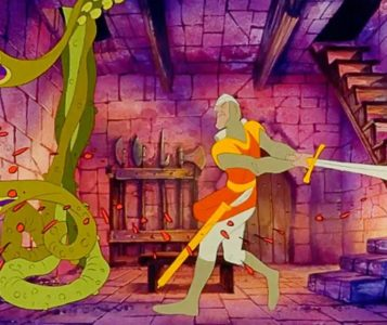 dragon's lair cartone