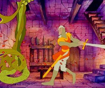 dragon's lair cartone