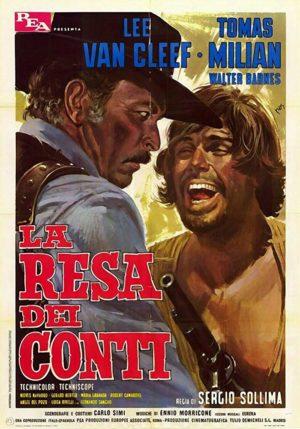 la resa dei conti film 1966 poster