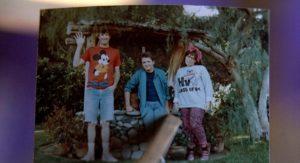 Michael J. Fox, Marc McClure e Wendie Jo Sperber ritorno al futuro 1985