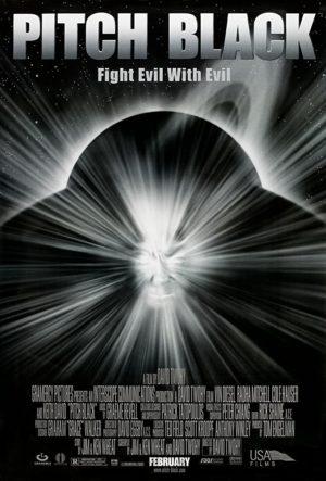 Pitch Black di David Twohy poster 2000