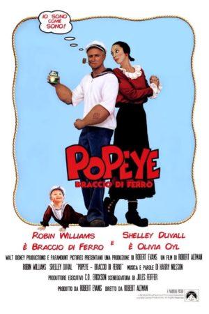 Popeye Braccio di ferro film 1980 poster