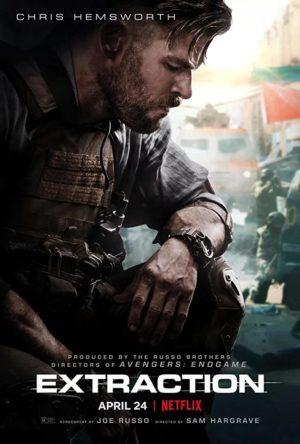 Tyler Rake - Extraction film poster netflix