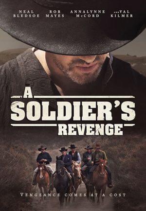 a soldier's revenge film 2020 poster
