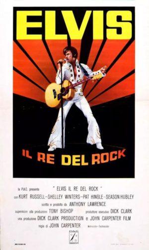 elvis, il re del rock film 1979 poster