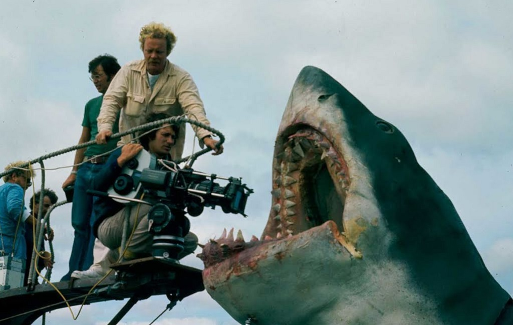 lo squalo 1975 film set