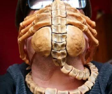 mascherina facehugger coronavirus