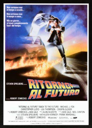 ritorno al futuro 1985 film poster