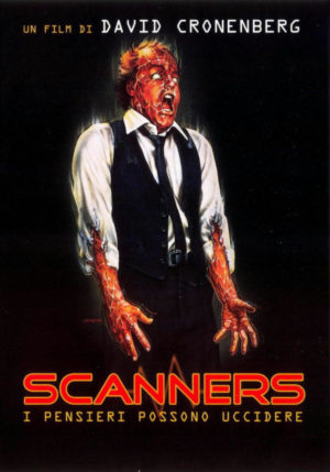 scanners film 1981 poster