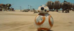 Star Wars Il risveglio della Forza bb8