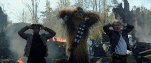 Star Wars Il risveglio della Forza chewbe han