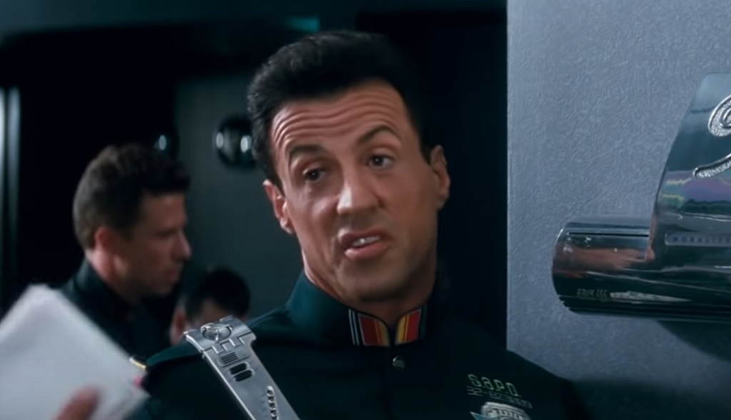 demolition man stallone multa