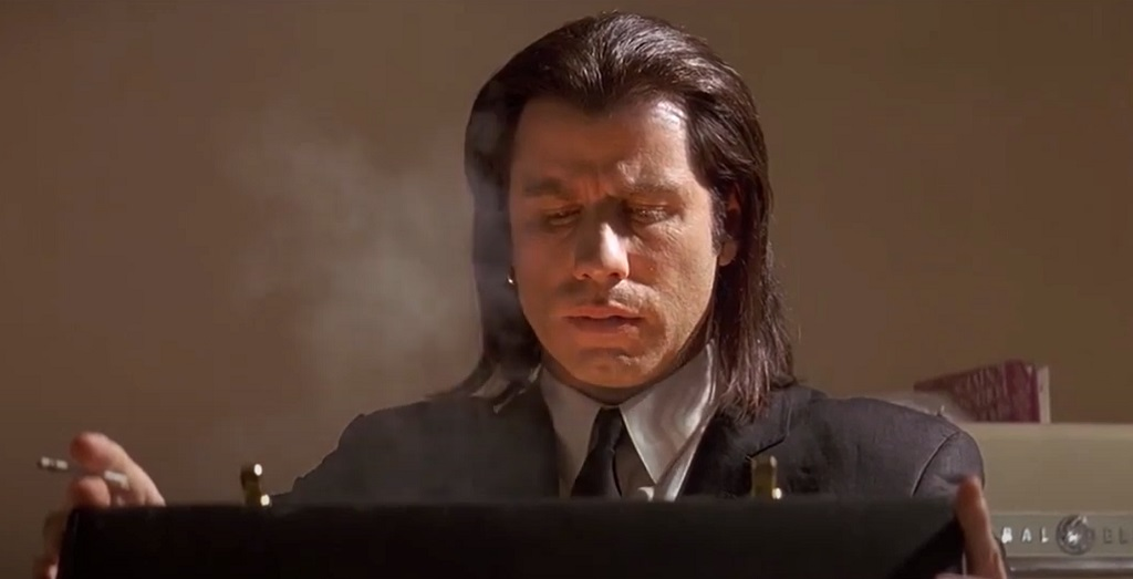 pulp fiction valigetta travolta film