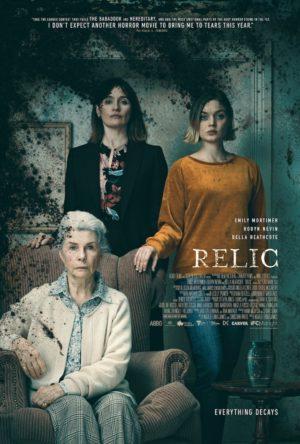 relic film poster 2020