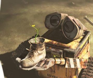 wall-e pixar film 2008