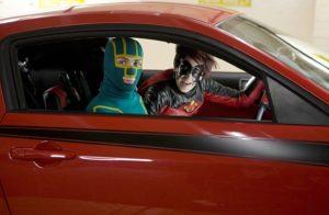 Aaron Taylor-Johnson e Christopher Mintz-Plasse in Kick-Ass (2010)